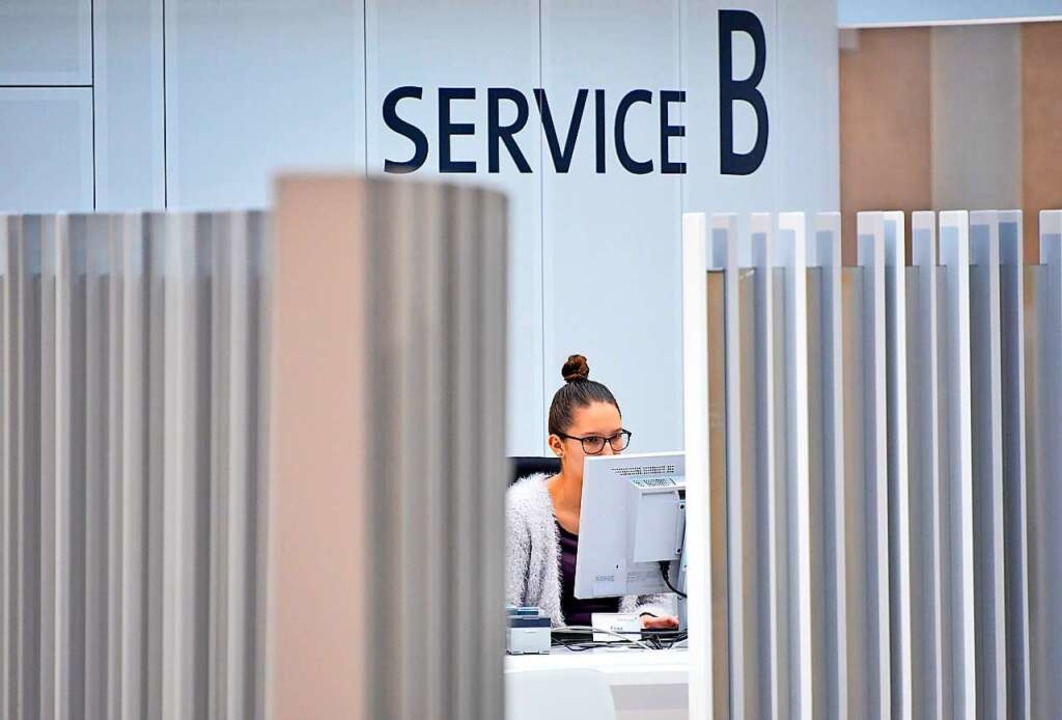 Der Bürgerservice ist derzeit gut ausgelastet.  | Foto: Michael Bamberger