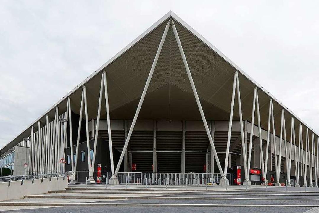 Das neue SC-Stadion     Foto: Ingo Schneider