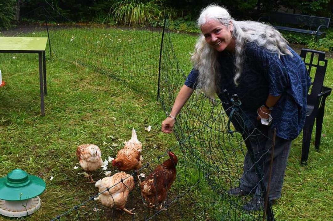 Im Schnitt legen die vier Hühner jeden Tag jeweils ein Ei.  | Foto: Hrvoje Miloslavic