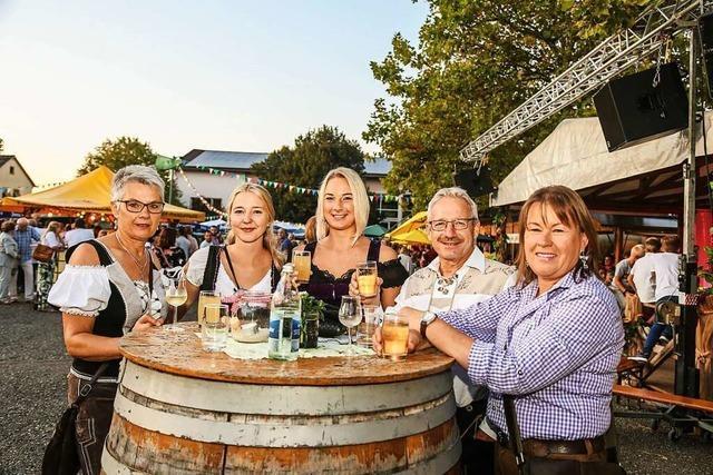 Das Kippenheimer Weinfest fällt auch dieses Jahr aus