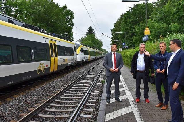 Anwohner der Rheintalbahn in Gundelfingen leiden unter Bahnlärm