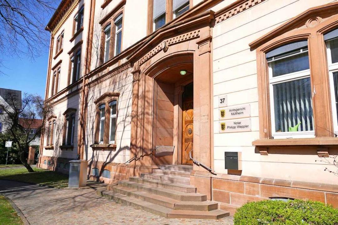 Über drei sehr unterschiedliche Straft... am Müllheimer Amtsgericht verhandelt.  | Foto: Susanne Ehmann