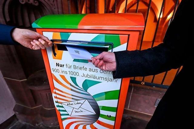 Einsendeschluss für Freiburger Briefe an die Zukunft verlängert