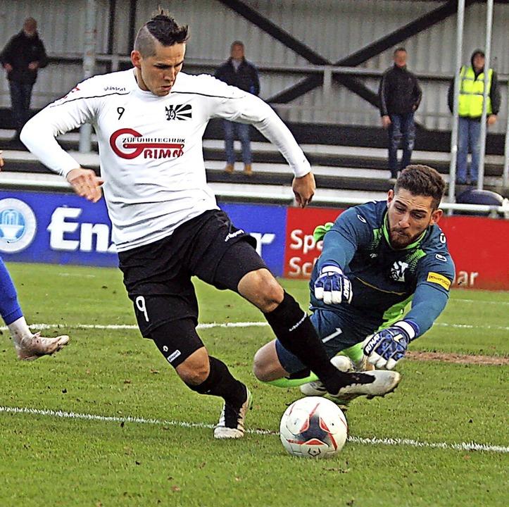 Stürmer Damian Kaminski wechselt vom FC 08 Villingen zum SV Zimmern.    Foto: Dieter Reinhardt