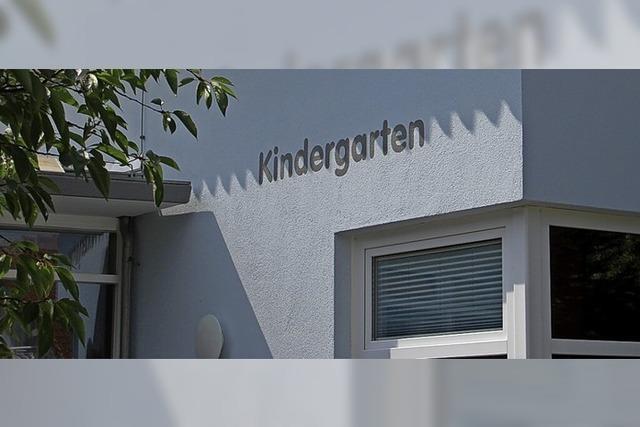 Kindergarten erhält Sonnenschutz