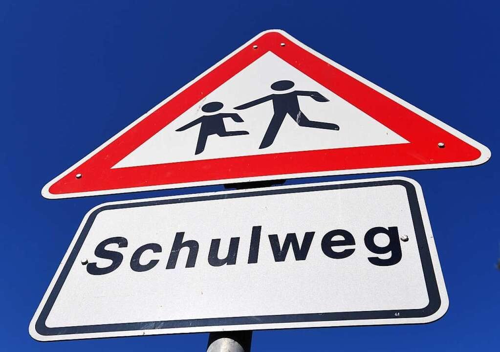 Der tägliche Schulweg aller Schülerinn... Prozent) der zweitgrößte Verursacher.  | Foto: Stefan Sauer