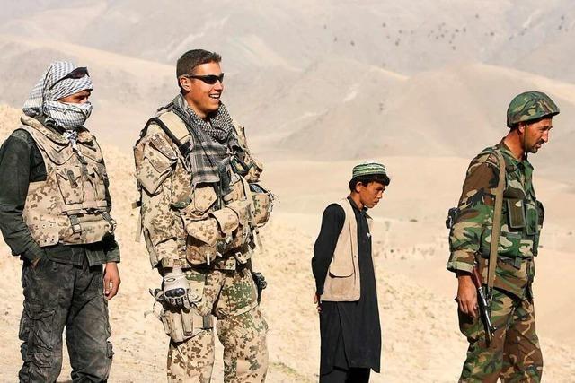 Bundeswehrsoldat sammelt Spenden für afghanische Ortskräfte
