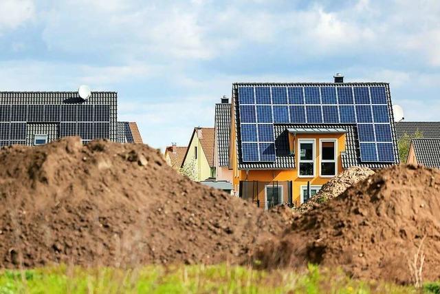 Grün-Schwarz will Solarpflicht für Häuslebauer im Südwesten