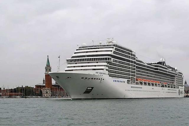 Verbot für große Kreuzfahrtschiffe in Venedig kommt