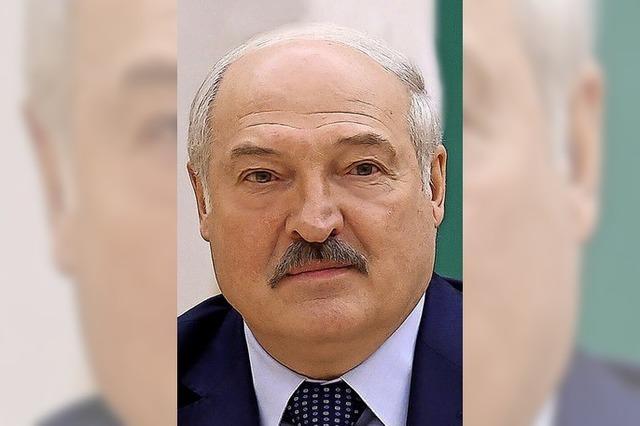 Belarus lässt die Muskeln spielen