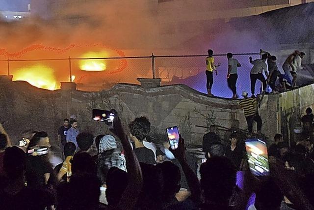 Im Irak brennt erneut eine Covid-Station