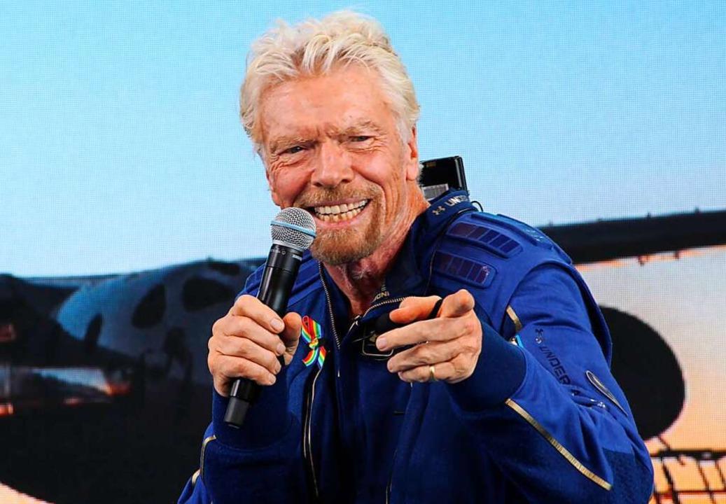 Richard Branson  | Foto: Susan Montoya Bryan (dpa)