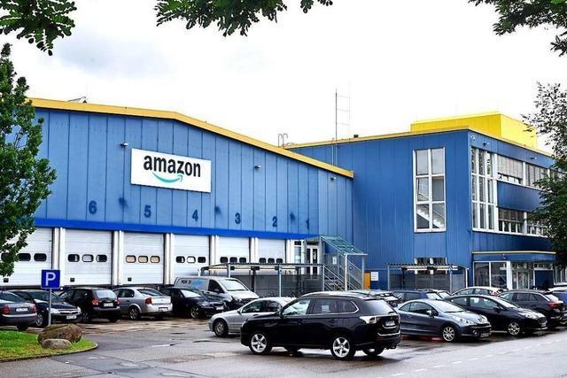 Amazon investiert an seinem Interimsstandort in Freiburg-Hochdorf