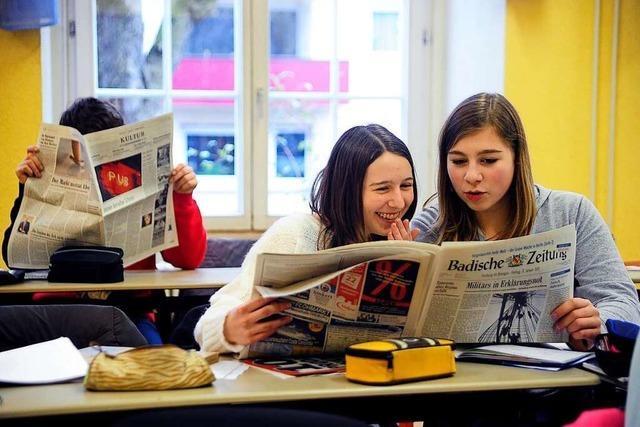Die Badische Zeitung engagiert sich auf vielen Ebenen in der Region