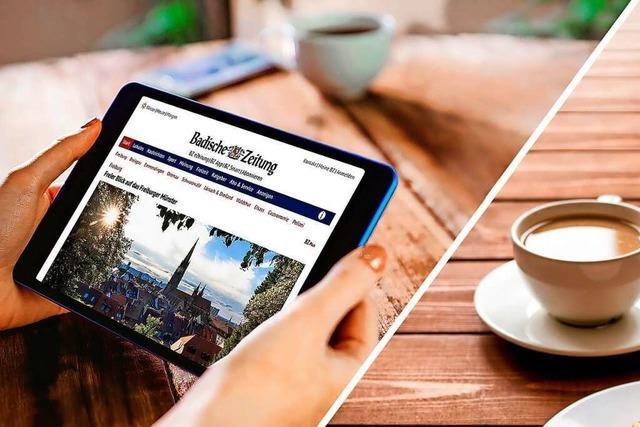 Digital oder Print? Wie zwei BZ-Redakteure ihre Zeitung lesen