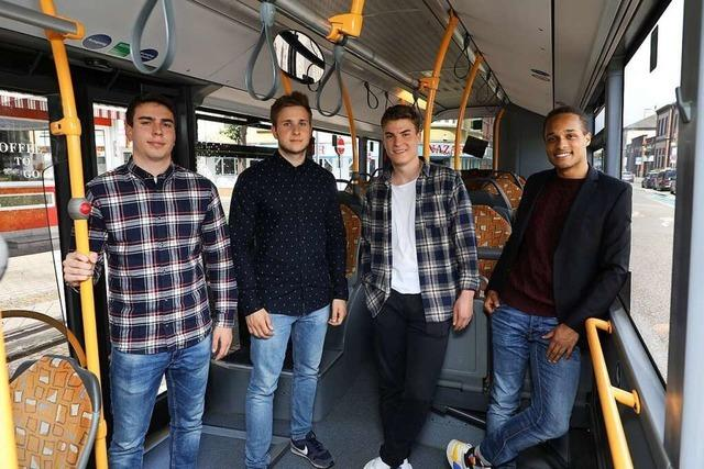 Junge Offenburger wollen mit einer App den ÖPNV sicherer machen