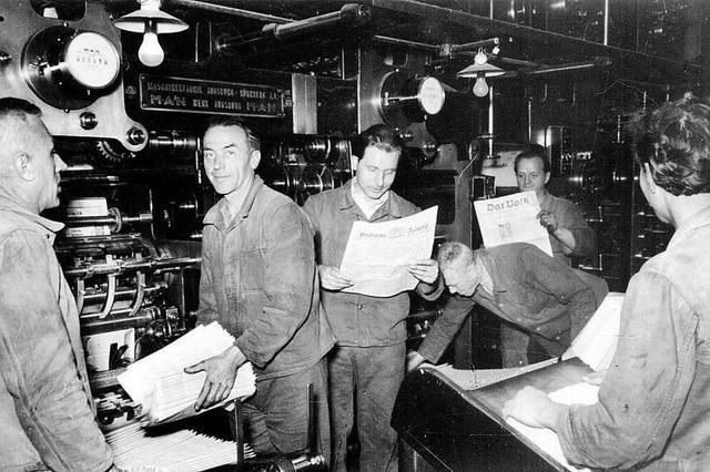 Fotos: 75 Jahre Badische Zeitung – die Geschichte in Bildern