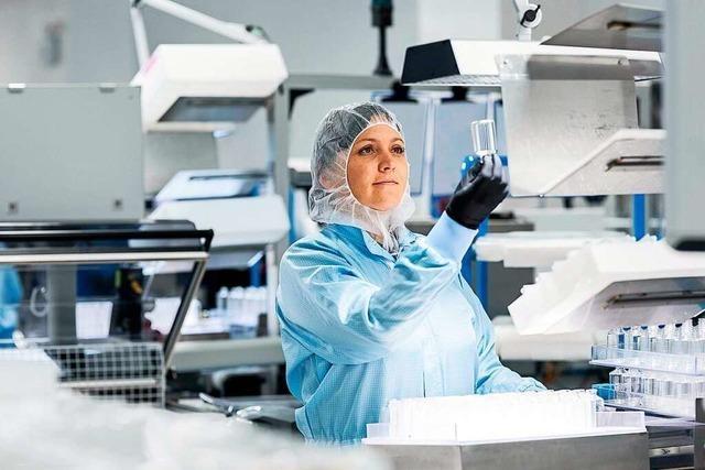 Glashersteller Schott produziert in Müllheim Fläschchen für Corona-Impfstoffe
