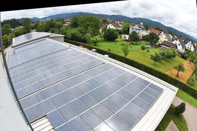 Denzlinger Energiegenossenschaft schüttet fünf Prozent Dividende aus