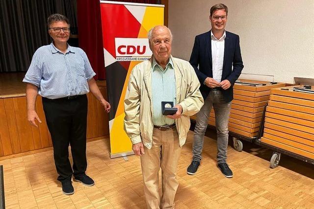 Der CDU-Stadtverband Waldkirch hielt seine Mitgliederversammlung ab
