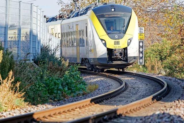 Zugausfälle und Verspätungen auf der Breisgau S-Bahn