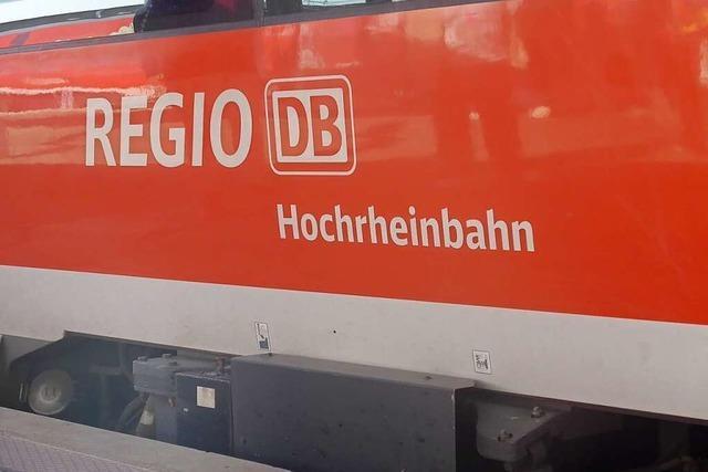 Dreijähriger steigt in Rheinfelden-Beuggen alleine in den Zug