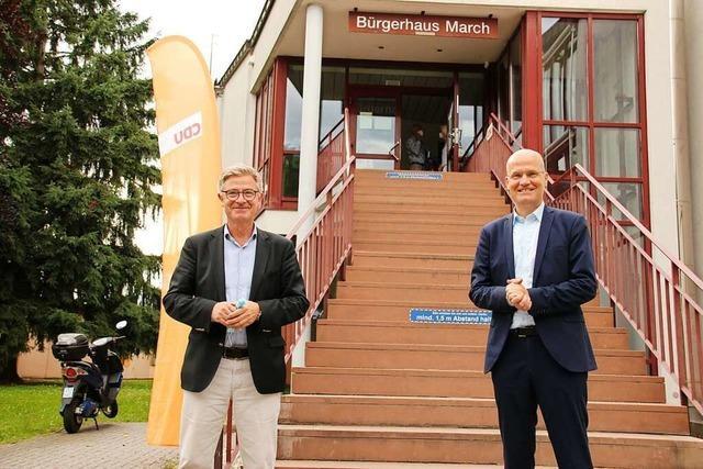 Ralph Brinkhaus war zum CDU-Wahlkampfauftakt in March
