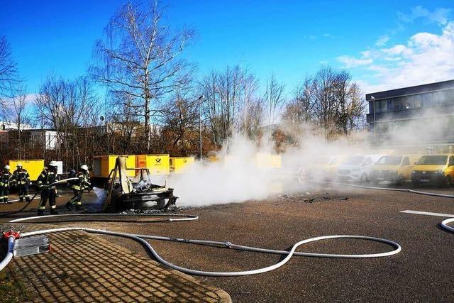 Ortenauer Feuerwehren sind auf brennende E-Autos vorbereitet