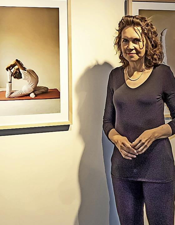 """Die Ausstellung """"Yoga –  Z...s Titisee-Neustadt organisiert worden.    Foto: Wilfried Dieckmann"""