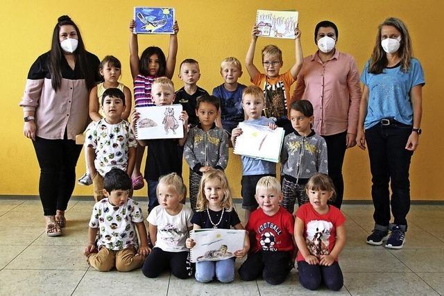 Kinder verarbeiten Pandemie künstlerisch