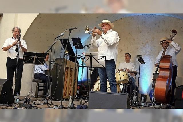 Schlossgarten in Tiengen wird zum Jazzdomizil