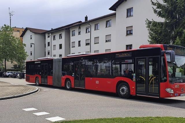 Bus fährt öfter und in eine Richtung