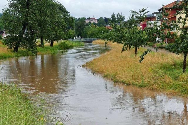 Beim Hochwasser in der Ortenau bleibt die Lage angespannt