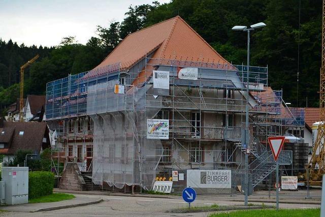 Der Ladhof in Elzach wird umgebaut und soll Anfang 2022 wieder eröffnet werden