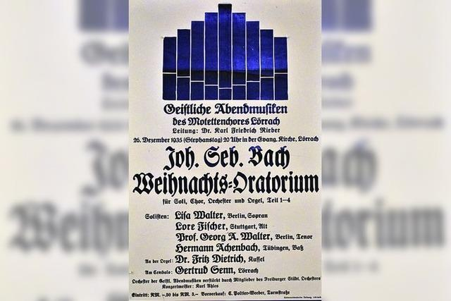 Der Chor entsprach den Erwartungen der Nazis