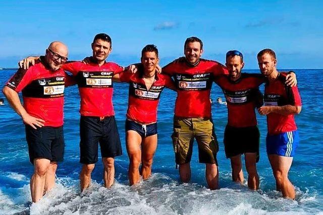 Vier Radler fahren aus dem Kandertal nonstop ans Mittelmeer