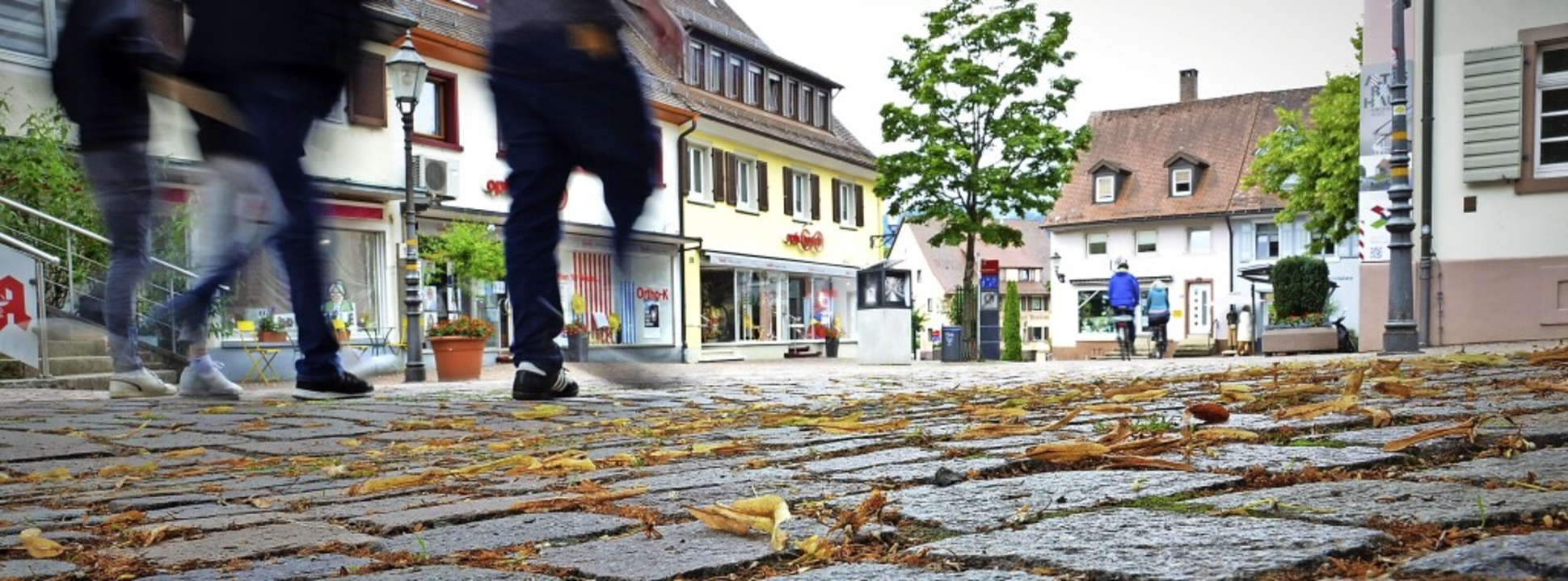 Der Einzelhandel im Herzen Kirchzartens ist vielen Bürgern wichtig.    Foto: Kathrin Blum
