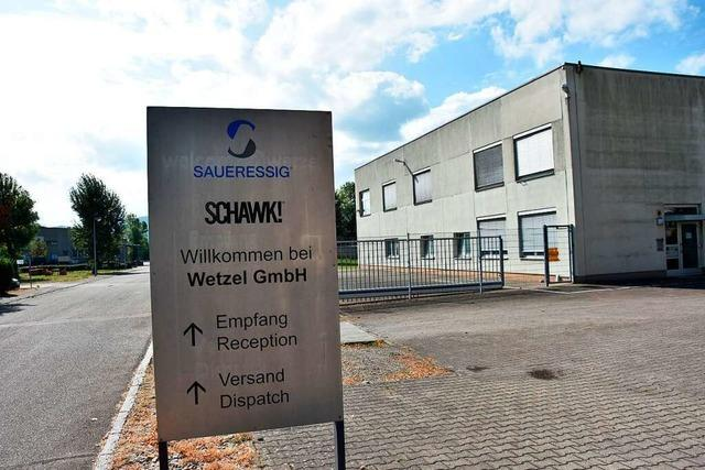 Wetzel verkauft Teile seines Geländes in Grenzach-Wyhlen