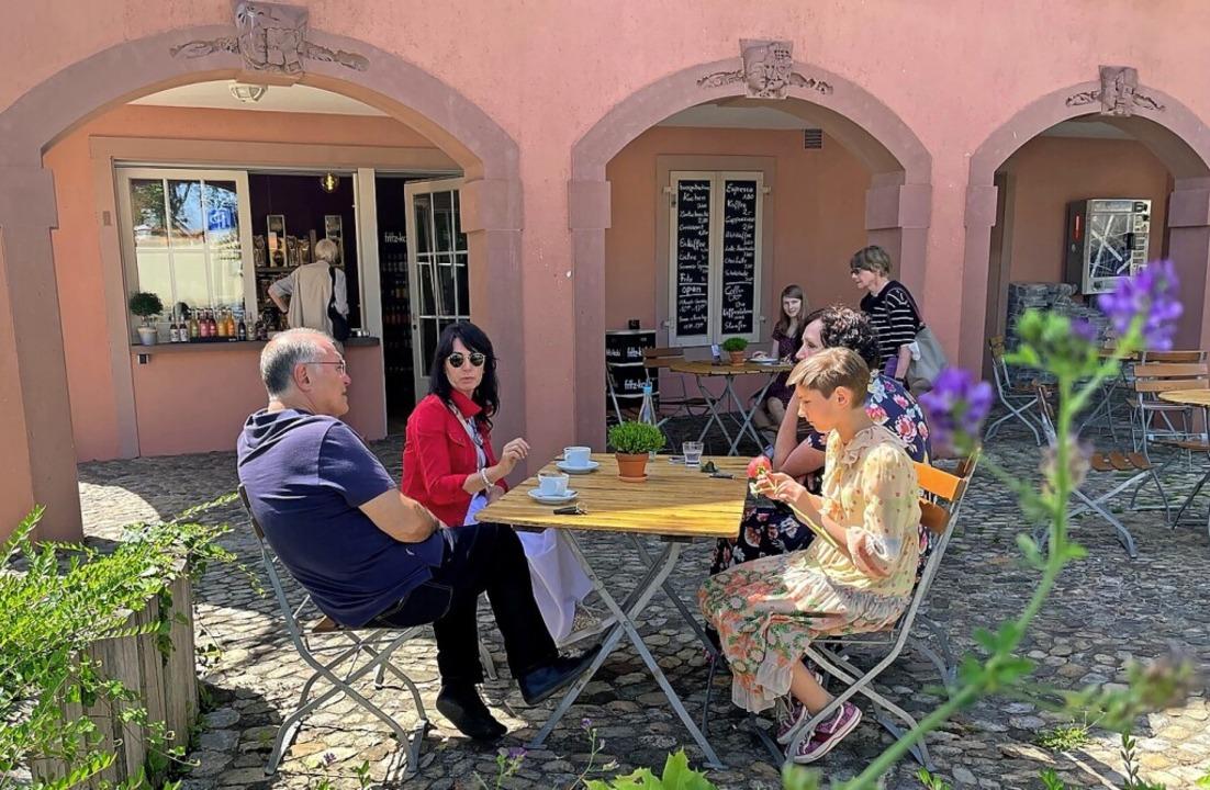 Im Breisacher Rathauskiosk auf dem Münsterberg hat ein Café eröffnet.  | Foto: privat