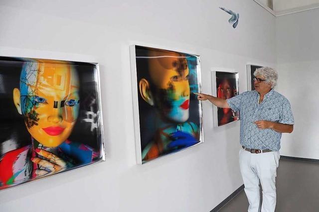 Die farbenprächtige und plastische Bilderwelt des Alain Vaissière