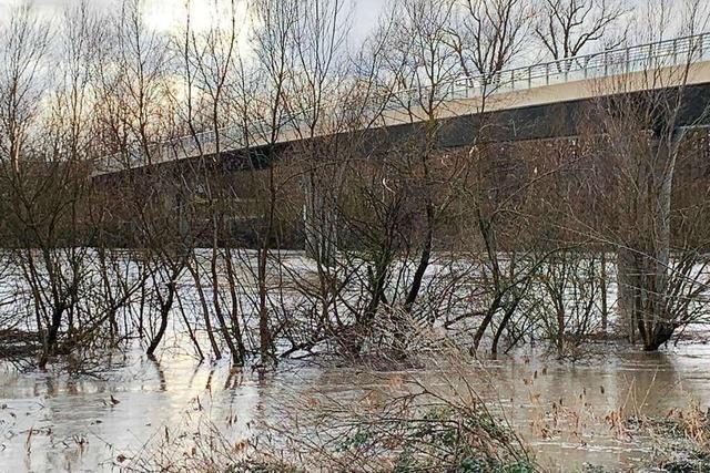 Rheinbrücke bei Hartheim wird am Donnerstagmorgen geschlossen