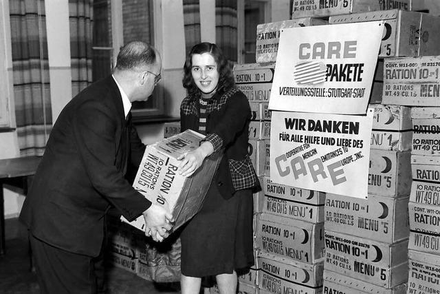 Vor 75 Jahren kamen die ersten Care-Pakete in Deutschland an
