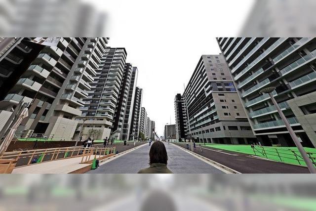 18 000 Athleten und Offizielle ziehen ins olympische Dorf von Tokio
