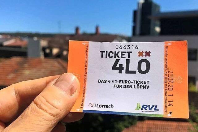Das Ein-Euro-Ticket in Lörrach ist beliebt, aber politisch umstritten