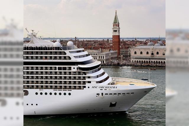 Venedig verbannt die Ozeanriesen