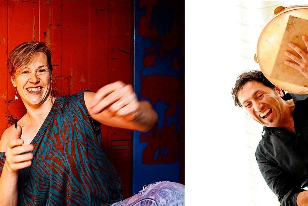 """""""BodyCussion"""": Anita Gritsch und Murat Coskun    Foto: Ellen Schmauss"""
