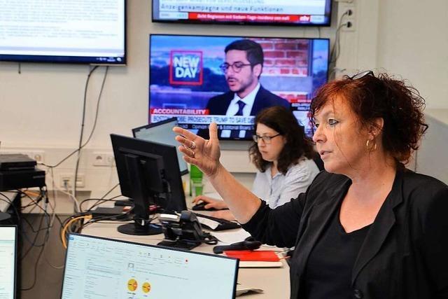 Der Newsdesk ist die Herzkammer der Redaktion