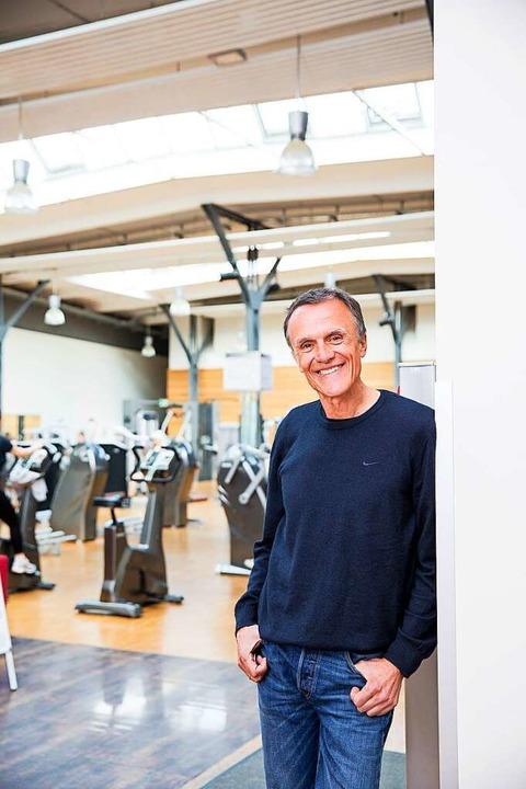 Scheut keine Risiken: der Unternehmer Rudolf Plüddemann  | Foto: Rückgrat Sport- und Gesundheitscenter