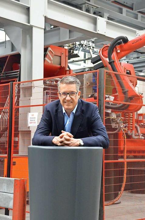 Geschäftsführer Otto P. Graf  | Foto: Felix Lieschke
