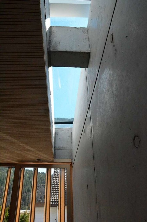 Lichtkanäle in dem modernen Bau  | Foto: Sebastian Barthmes
